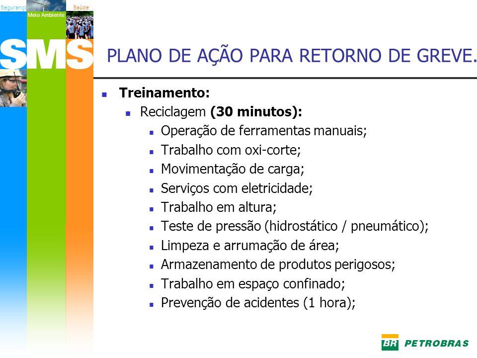 PLANO DE AÇÃO PARA RETORNO DE GREVE.