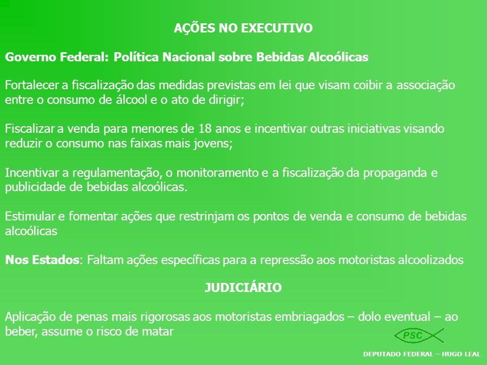 AÇÕES NO EXECUTIVO JUDICIÁRIO
