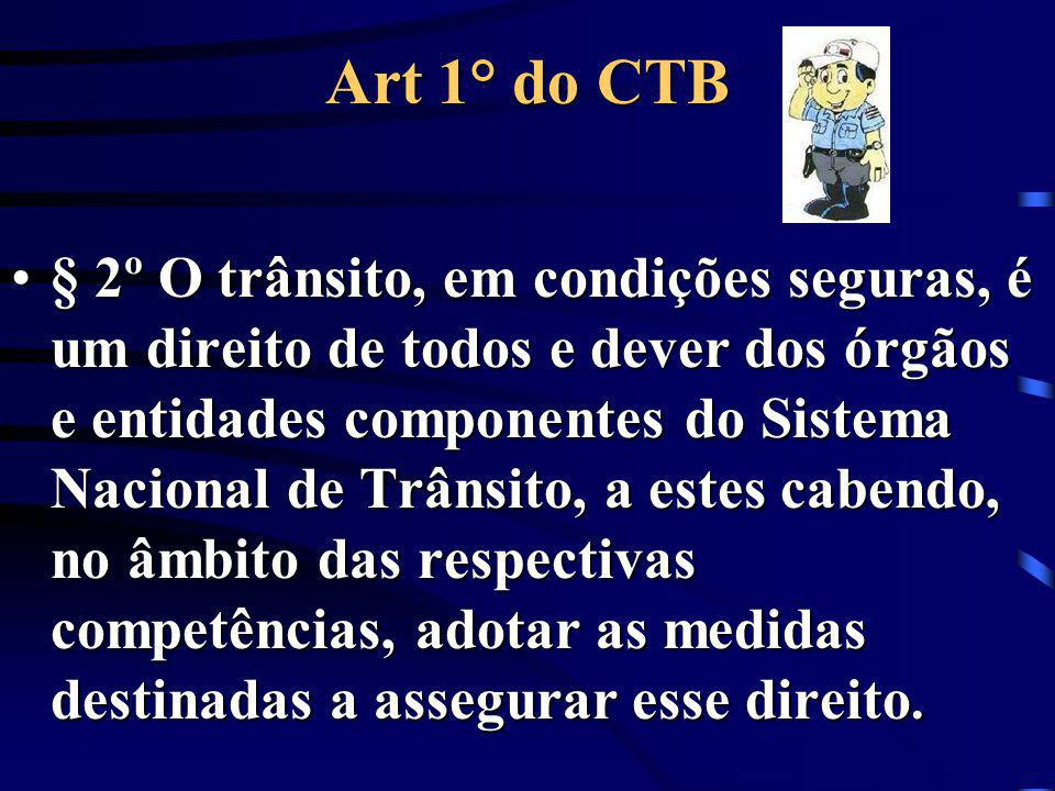 Art 1° do CTB