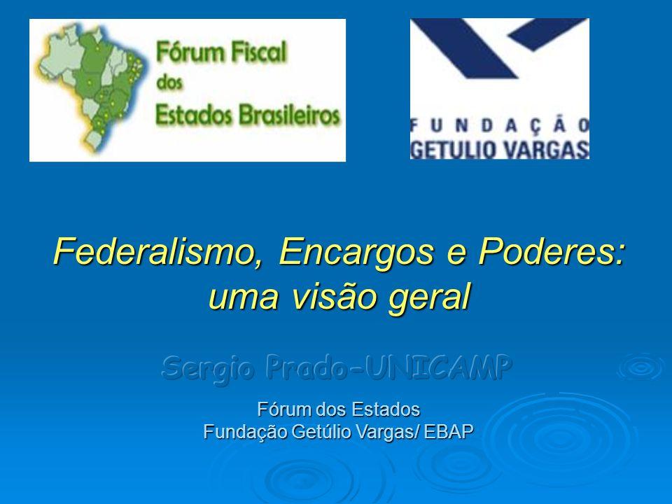 Federalismo, Encargos e Poderes: uma visão geral