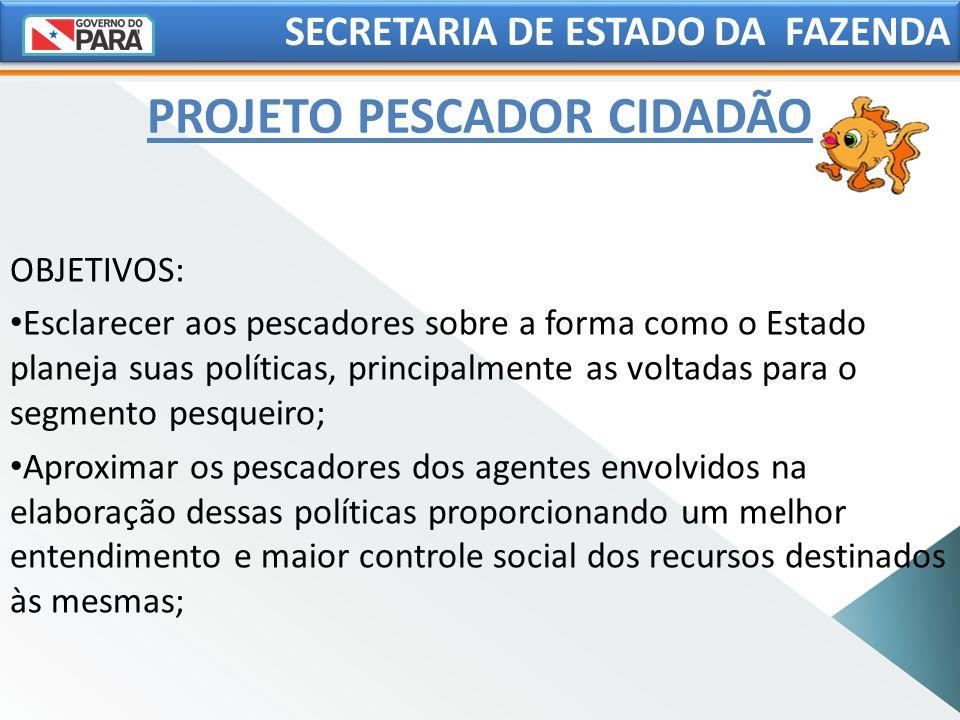 PROJETO PESCADOR CIDADÃO