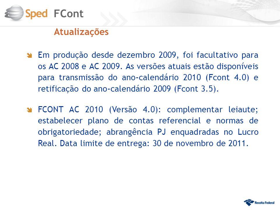 FCont Atualizações.