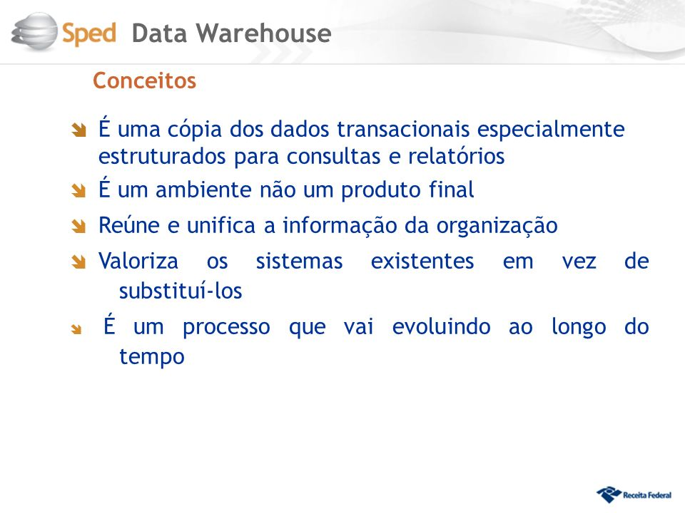 Data Warehouse Conceitos