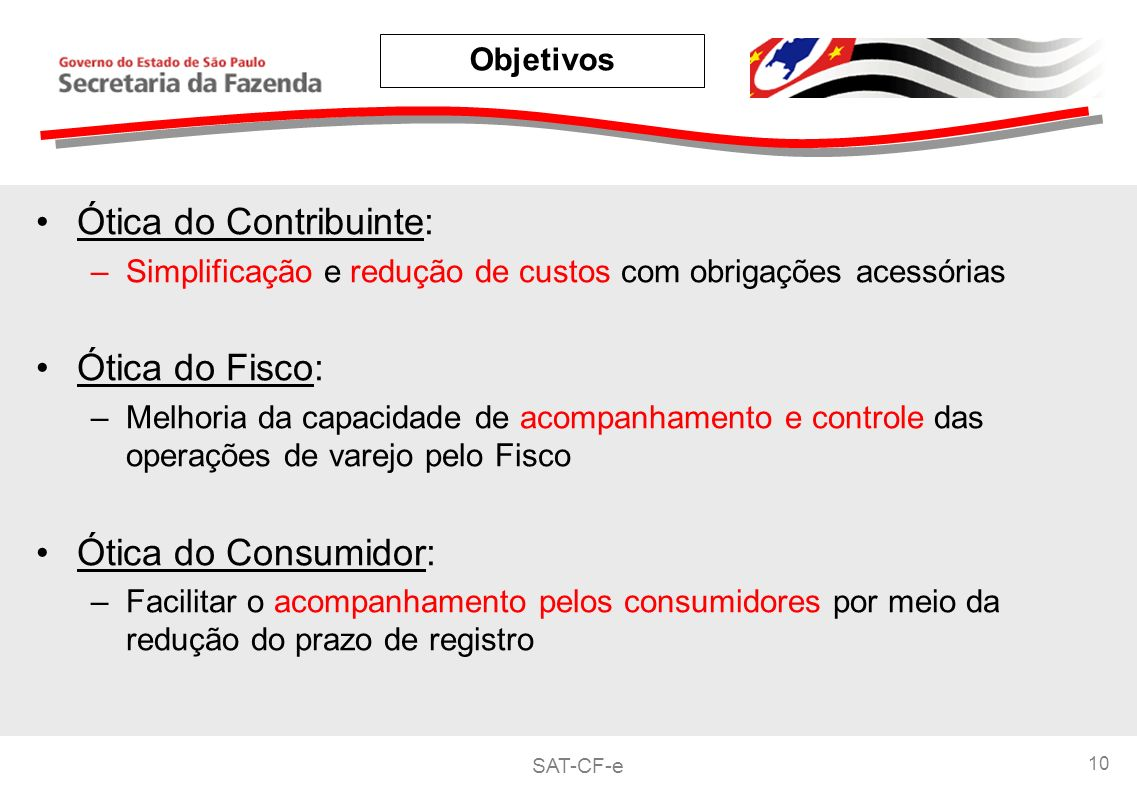 Ótica do Contribuinte: