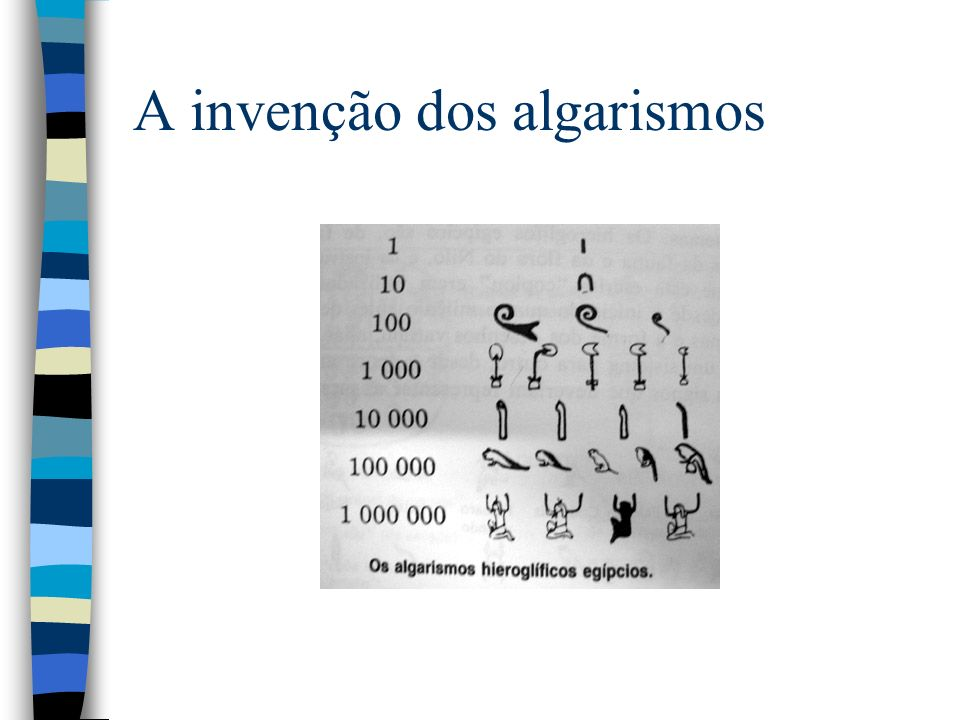 A invenção dos algarismos