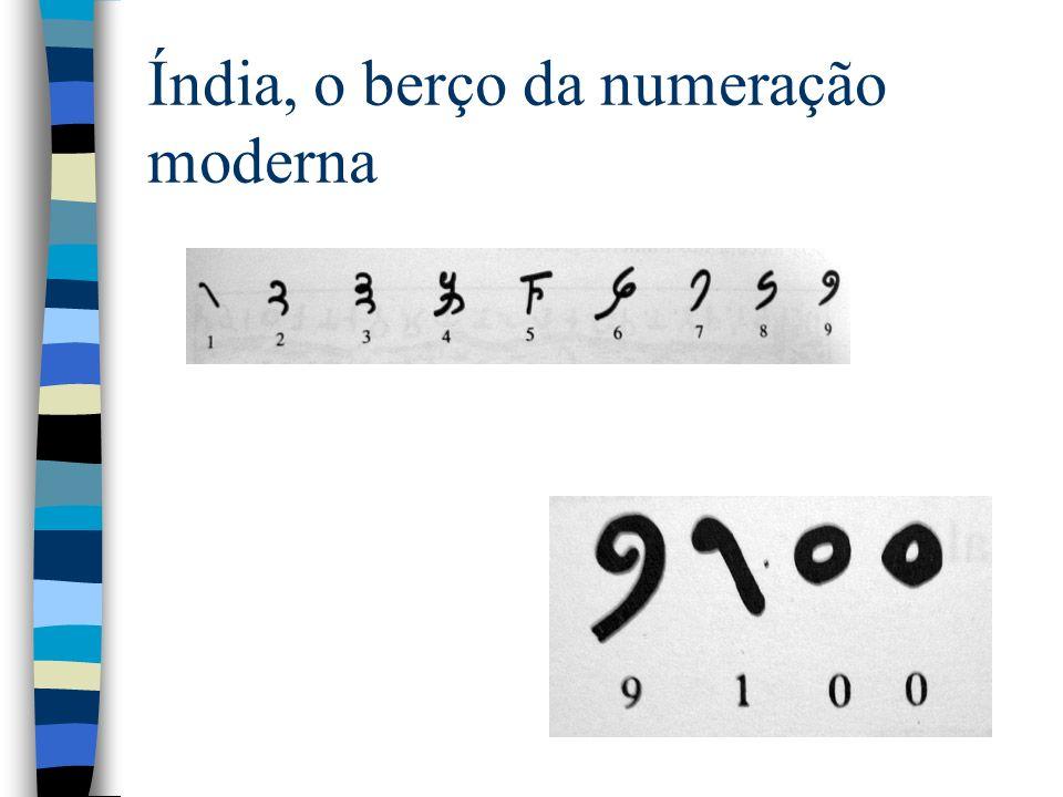 Índia, o berço da numeração moderna