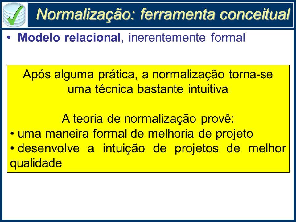 Normalização: ferramenta conceitual
