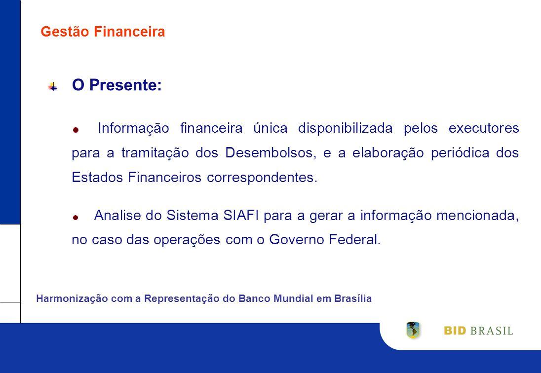 Gestão FinanceiraO Presente: