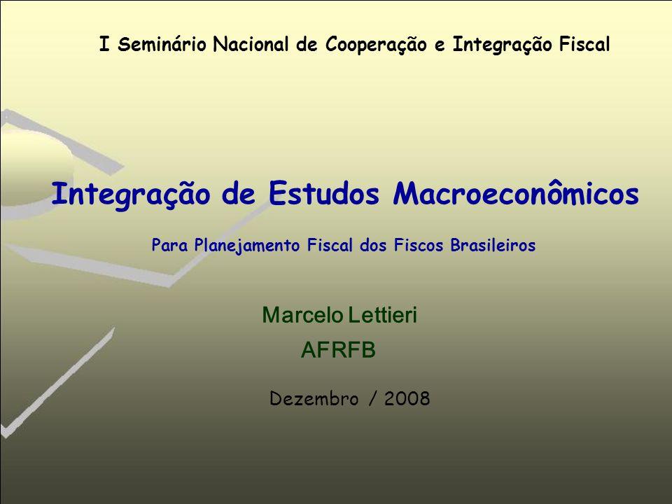Integração de Estudos Macroeconômicos