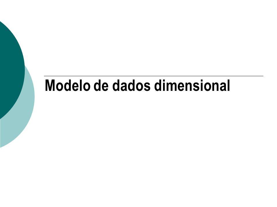 Modelo de dados dimensional