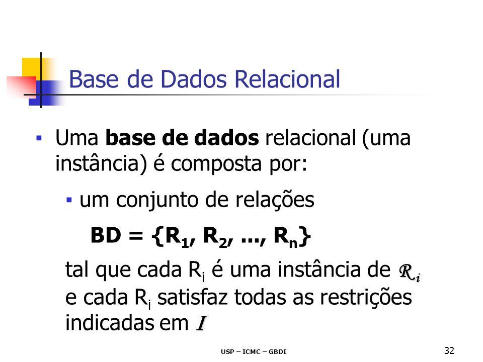 Base de Dados Relacional