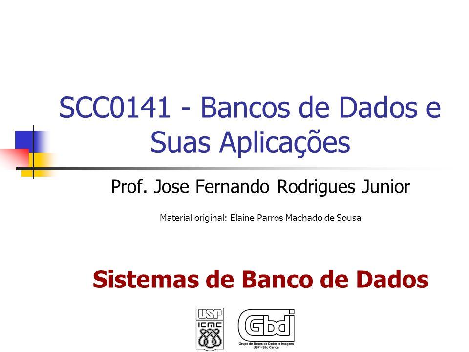 SCC0141 - Bancos de Dados e Suas Aplicações