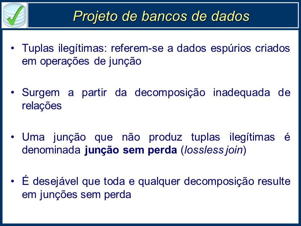 Projeto de bancos de dados