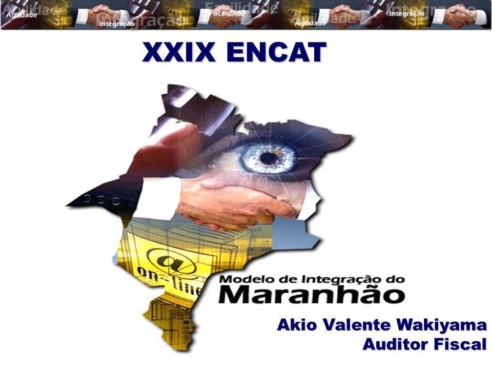 XXIX ENCAT Akio Valente Wakiyama Auditor Fiscal
