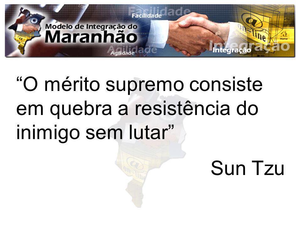 O mérito supremo consiste em quebra a resistência do inimigo sem lutar