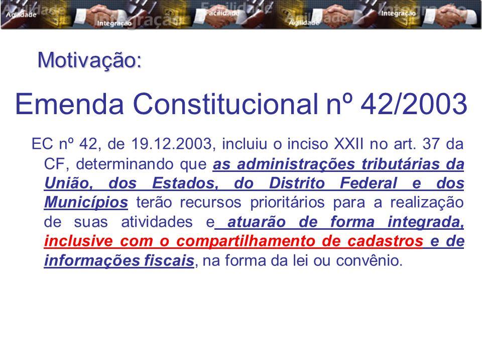 Emenda Constitucional nº 42/2003