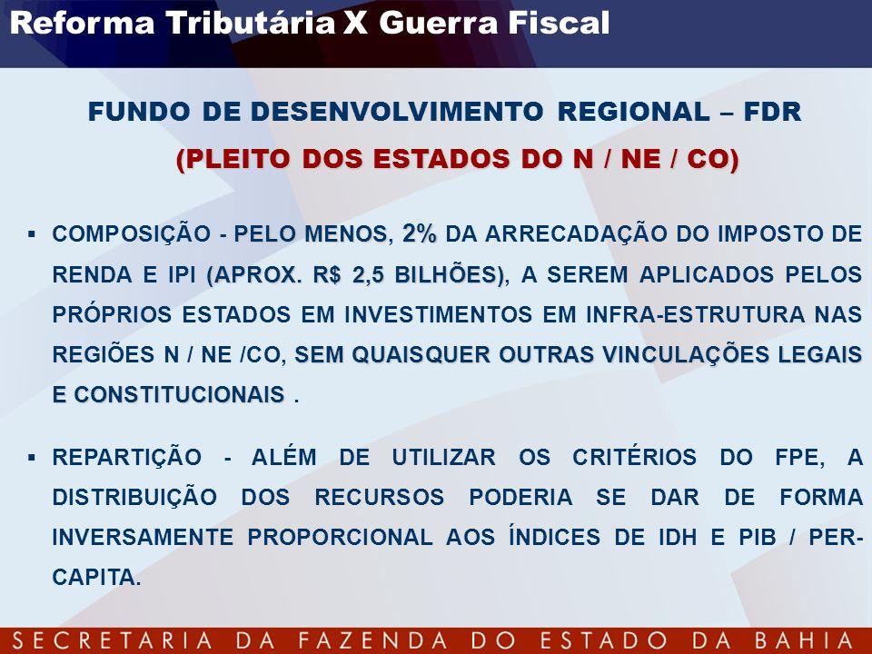 Reforma Tributária X Guerra Fiscal