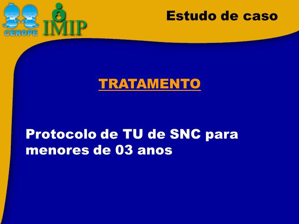 Estudo de caso TRATAMENTO Protocolo de TU de SNC para menores de 03 anos