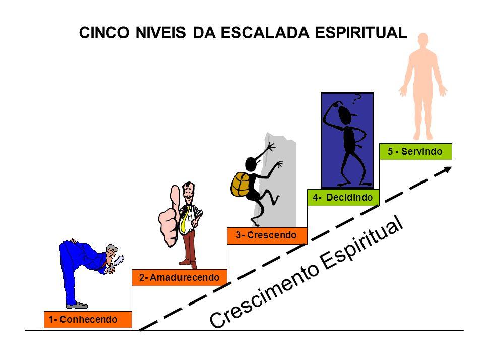 CINCO NIVEIS DA ESCALADA ESPIRITUAL