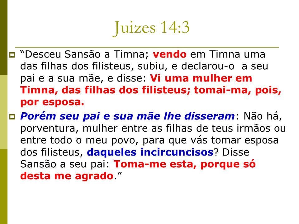 Juizes 14:3
