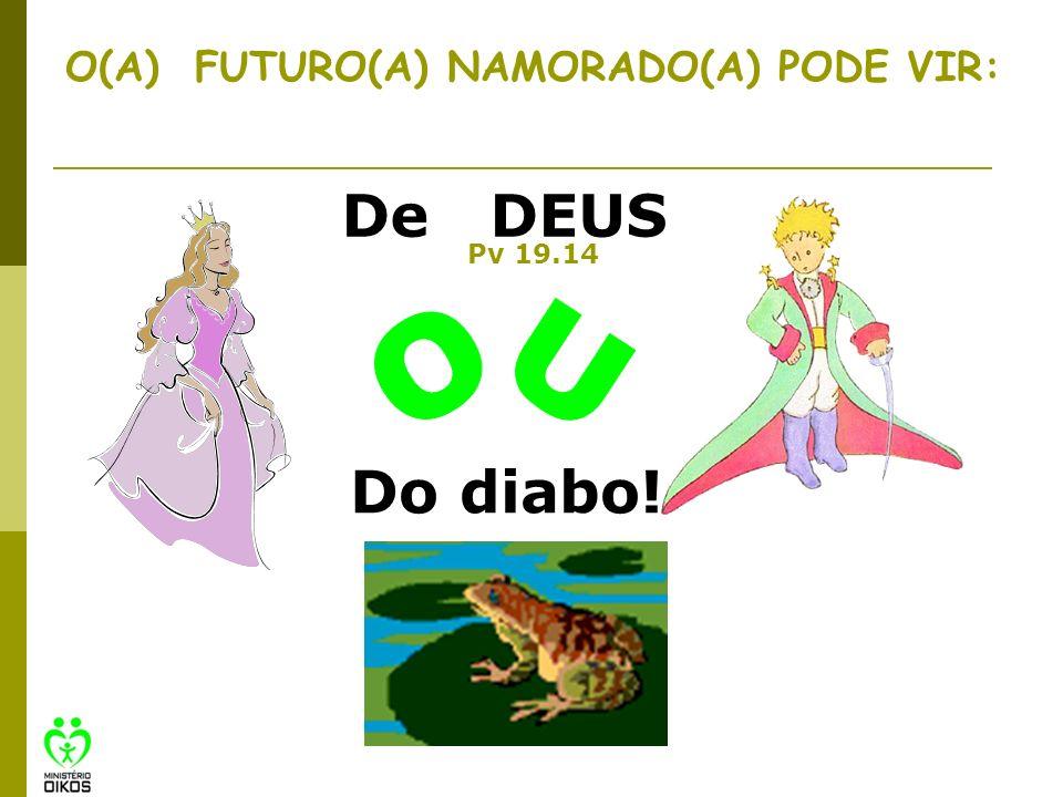 O(A) FUTURO(A) NAMORADO(A) PODE VIR: