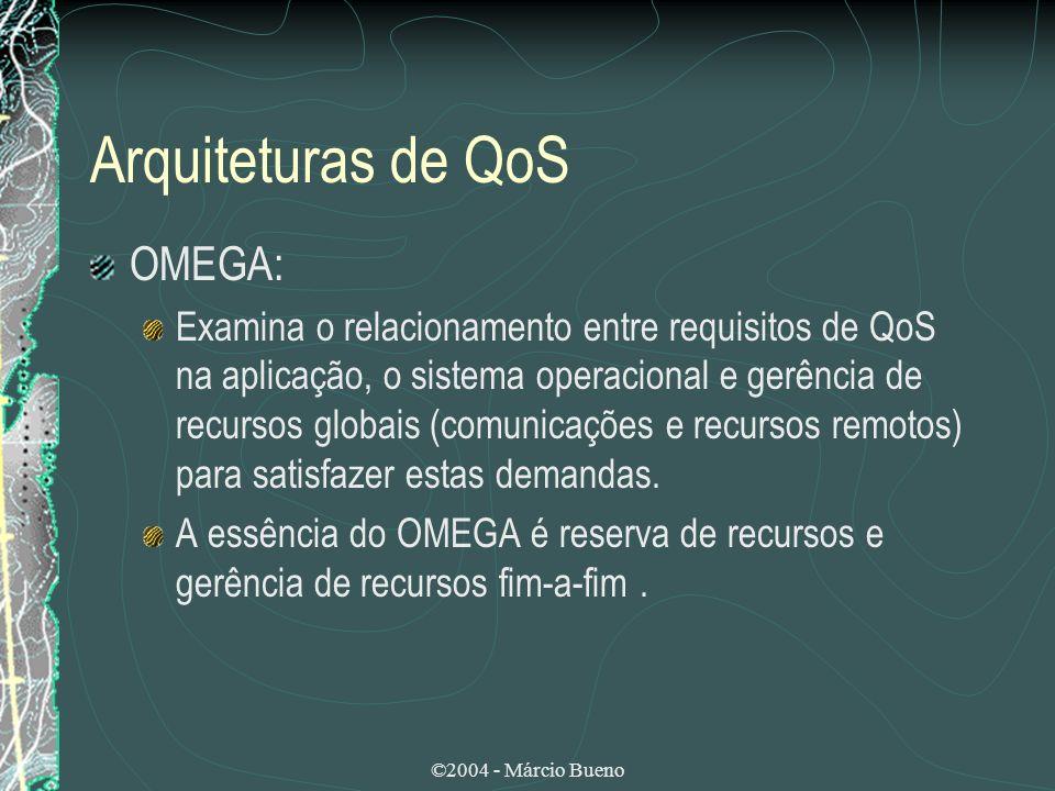 Arquiteturas de QoS OMEGA: