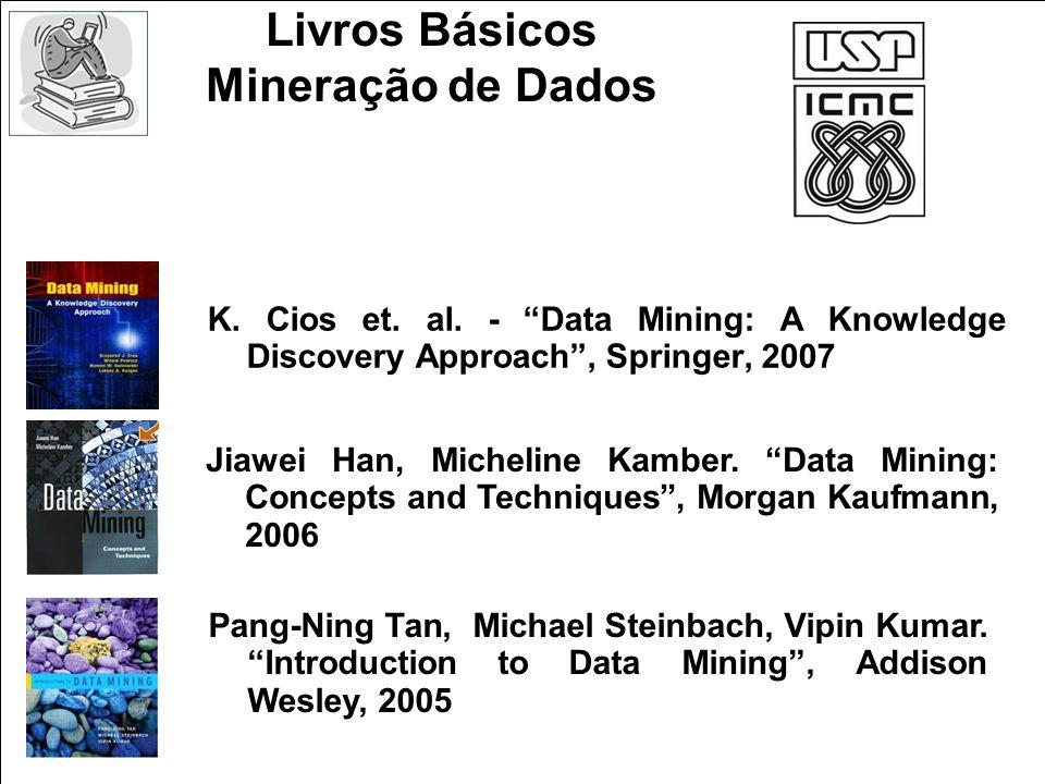 Livros Básicos Mineração de Dados