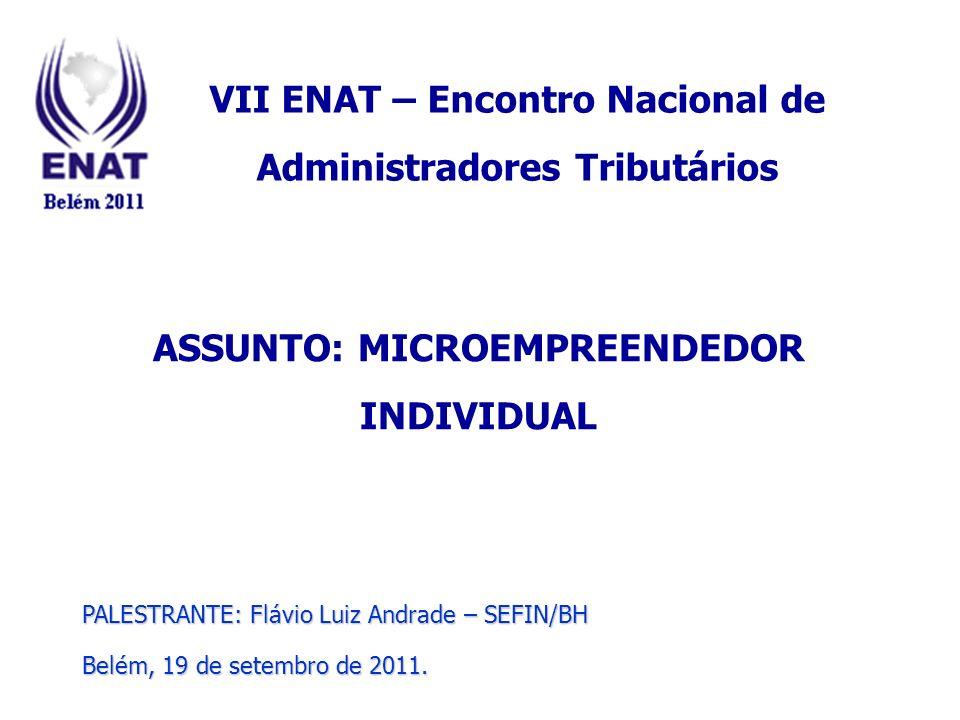 VII ENAT – Encontro Nacional de Administradores Tributários