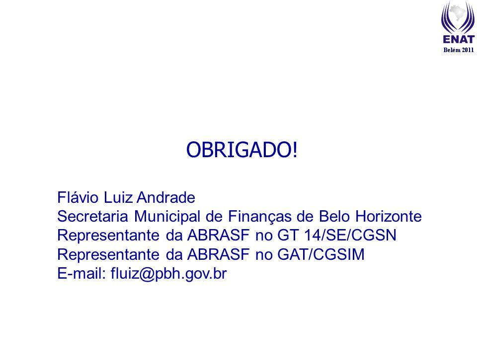 OBRIGADO! Flávio Luiz Andrade