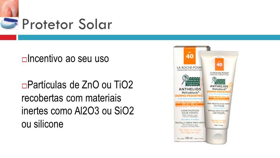 Protetor Solar Incentivo ao seu uso