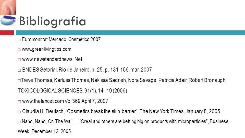 Bibliografia www.newstandardnews. Net