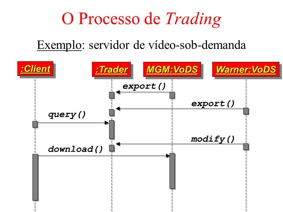 Exemplo: servidor de vídeo-sob-demanda