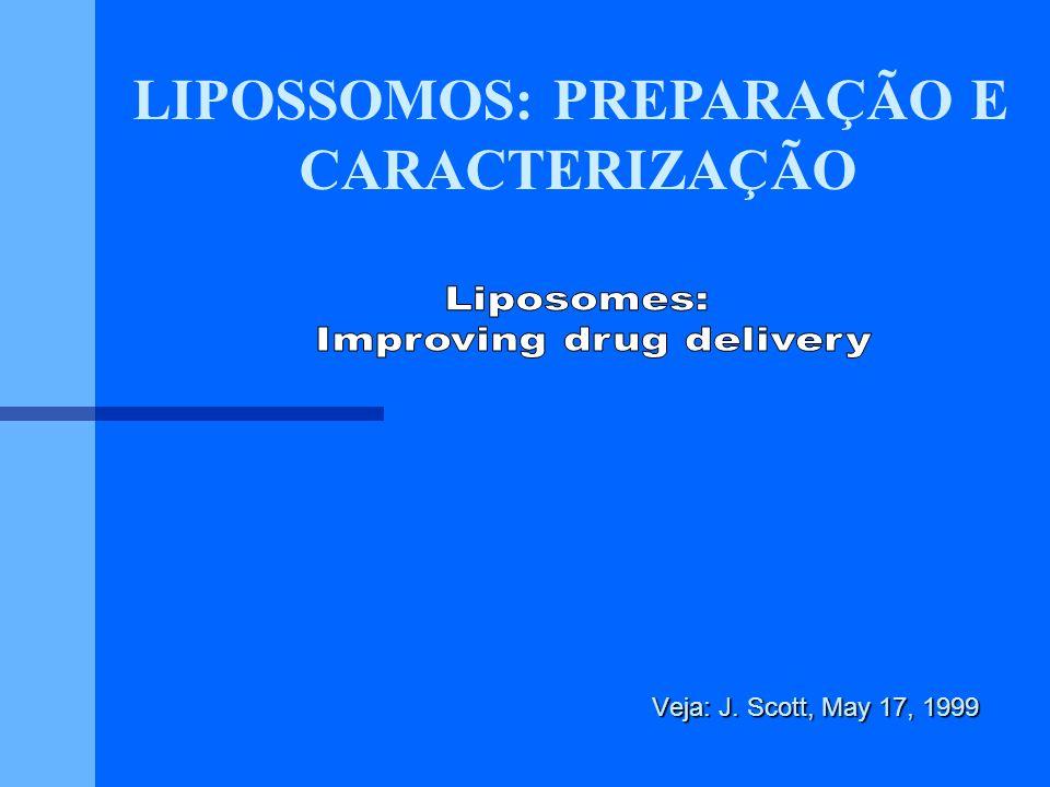 LIPOSSOMOS: PREPARAÇÃO E Improving drug delivery