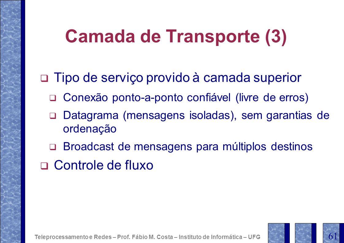 Camada de Transporte (3)