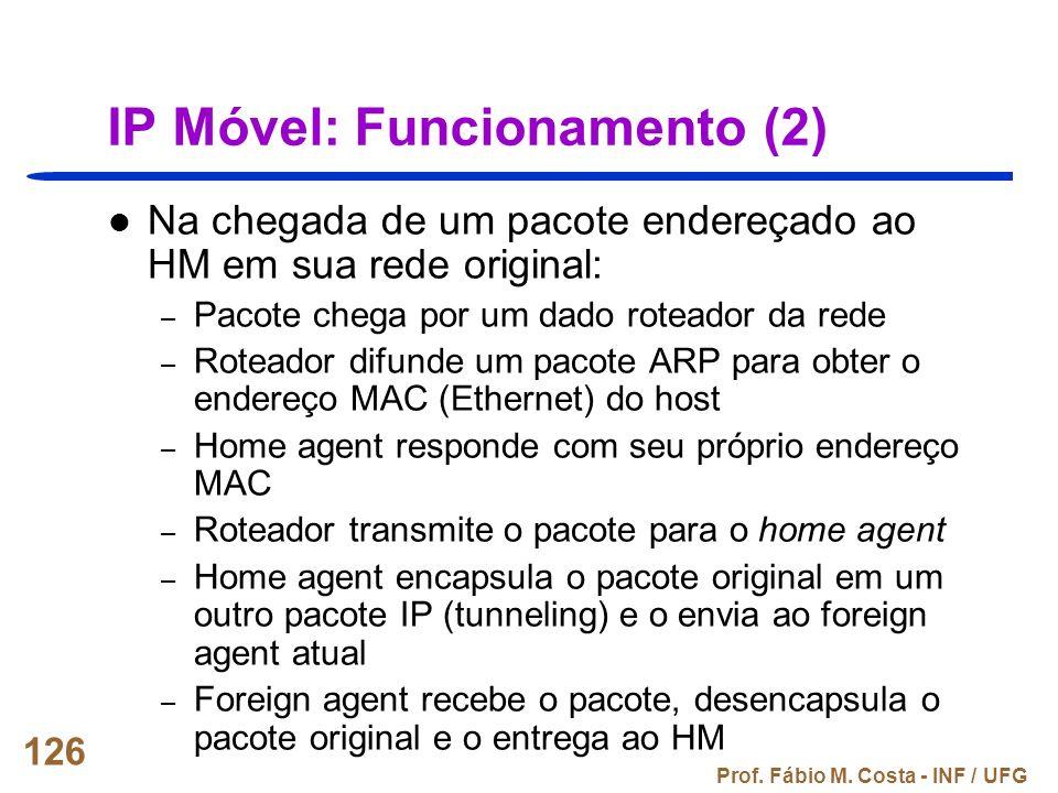 IP Móvel: Funcionamento (2)