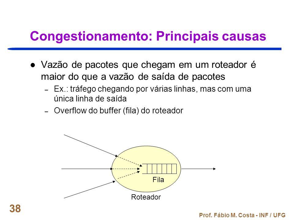 Congestionamento: Principais causas