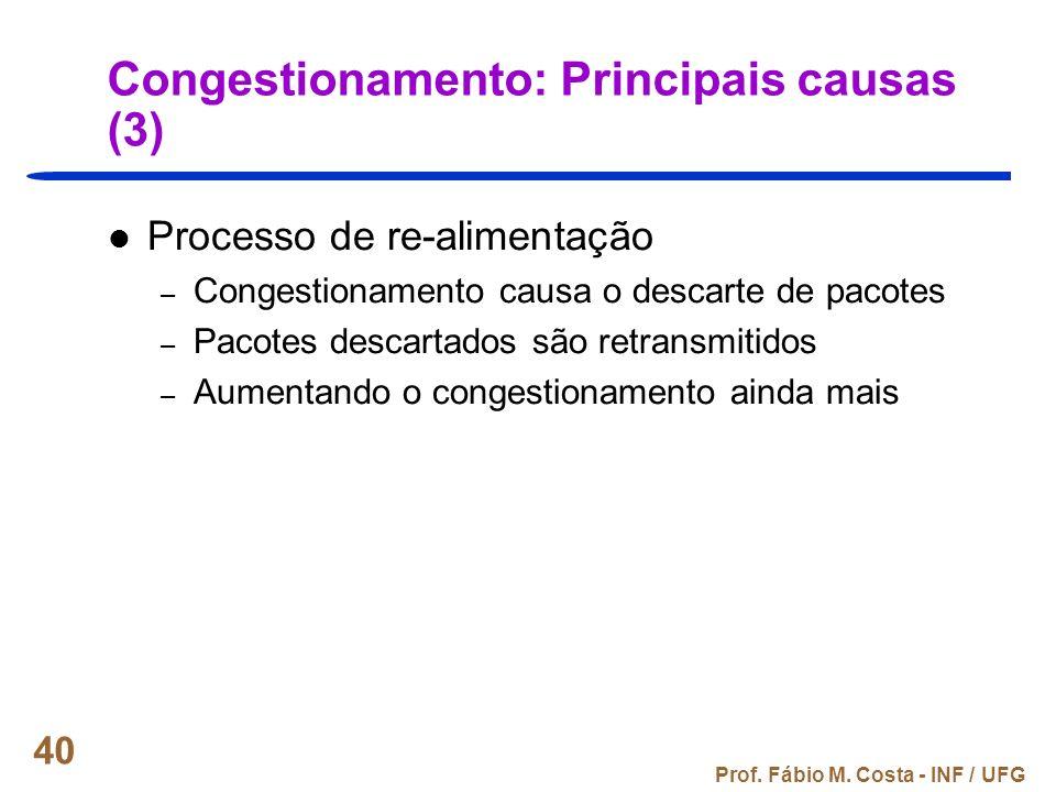 Congestionamento: Principais causas (3)
