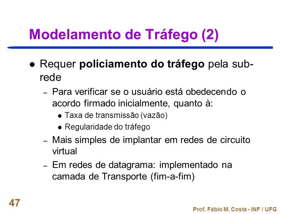 Modelamento de Tráfego (2)