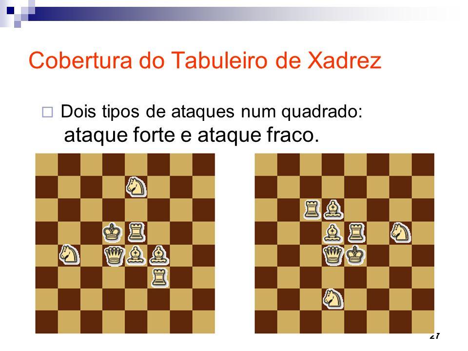 Cobertura do Tabuleiro de Xadrez