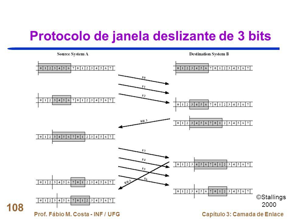 Protocolo de janela deslizante de 3 bits