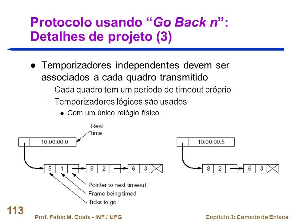 Protocolo usando Go Back n : Detalhes de projeto (3)