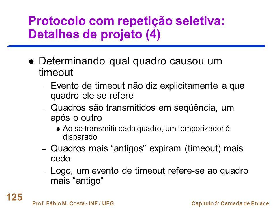 Protocolo com repetição seletiva: Detalhes de projeto (4)