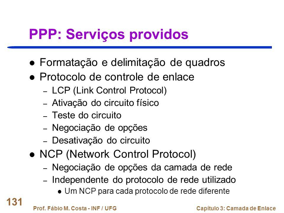 PPP: Serviços providos