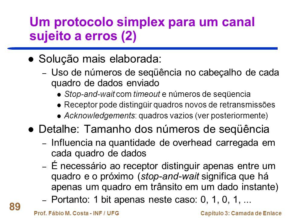 Um protocolo simplex para um canal sujeito a erros (2)