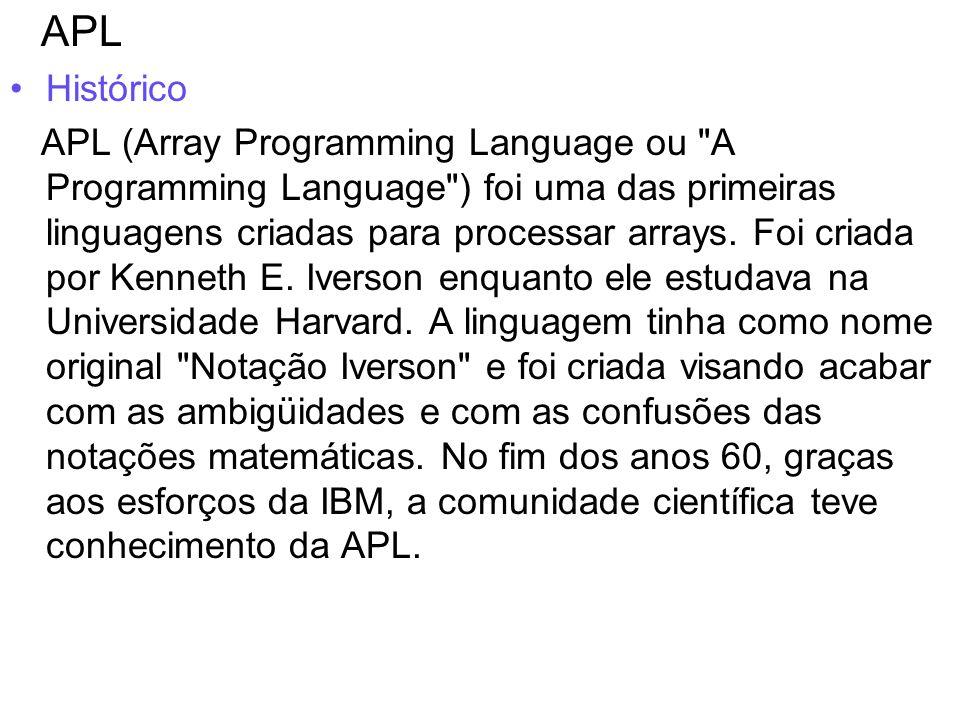 APL Histórico.