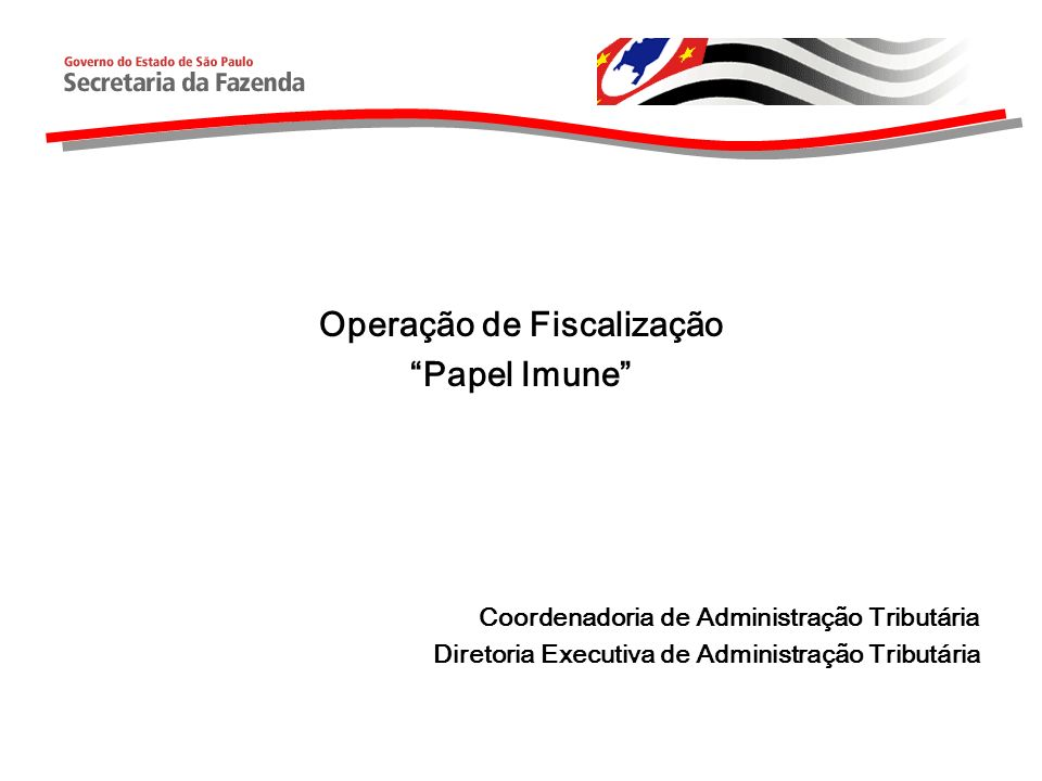 Operação de Fiscalização