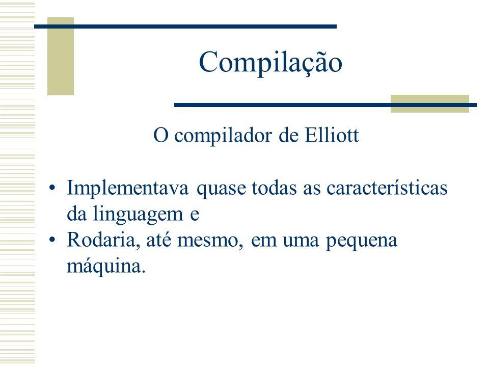 O compilador de Elliott