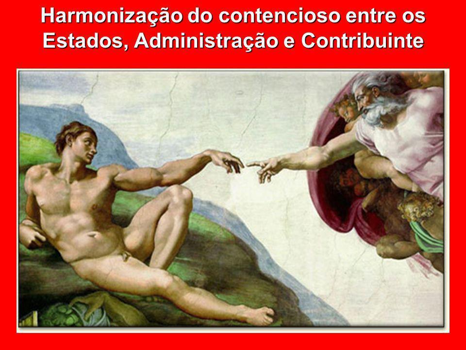 Harmonização do contencioso entre os Estados, Administração e Contribuinte