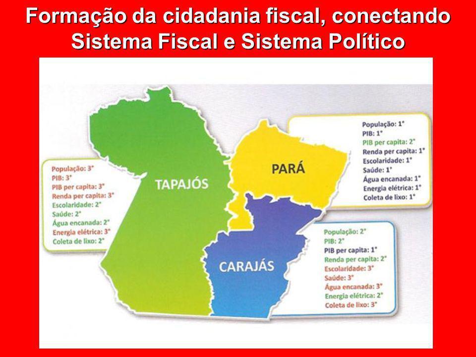 Formação da cidadania fiscal, conectando Sistema Fiscal e Sistema Político