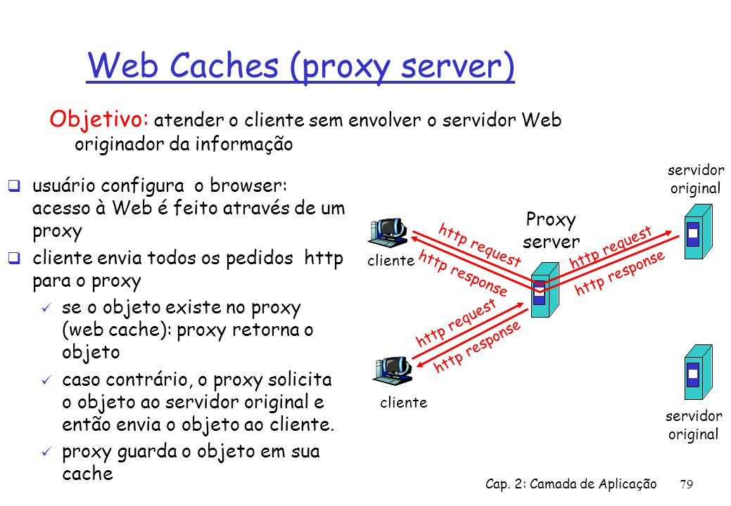 Web Caches (proxy server)